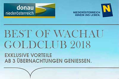 Best of Wachau Goldclub 2018 Logo